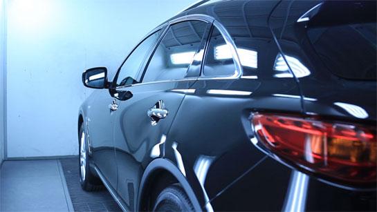 Покрытие керамикой кузова автомобиля