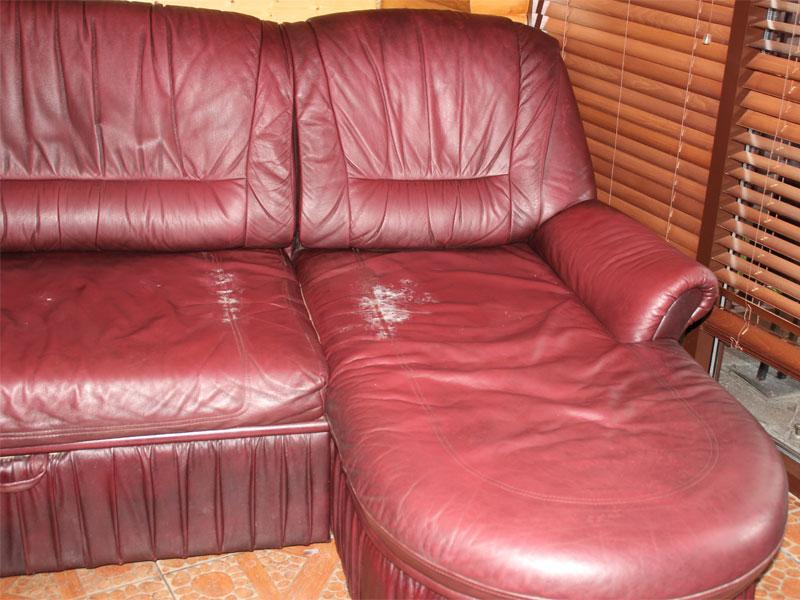 до ремонта кожаной мебели