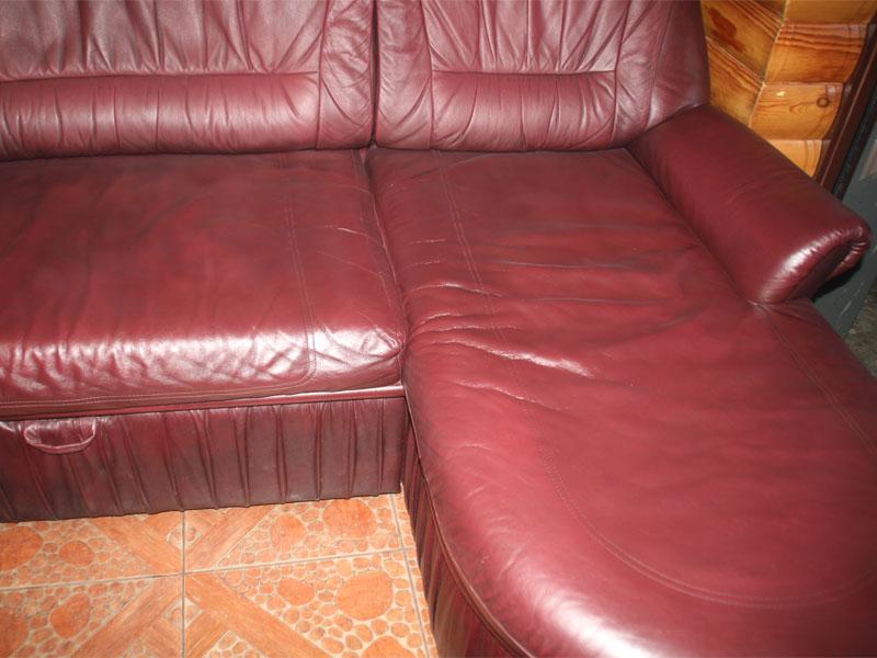 после ремонта кожаной мебели
