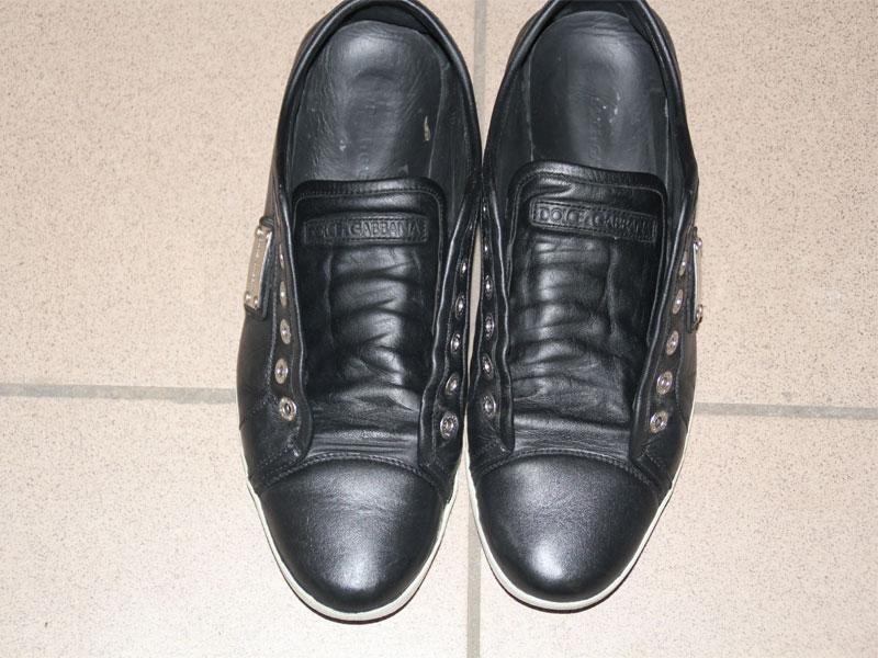 после ремонта кожаной обуви