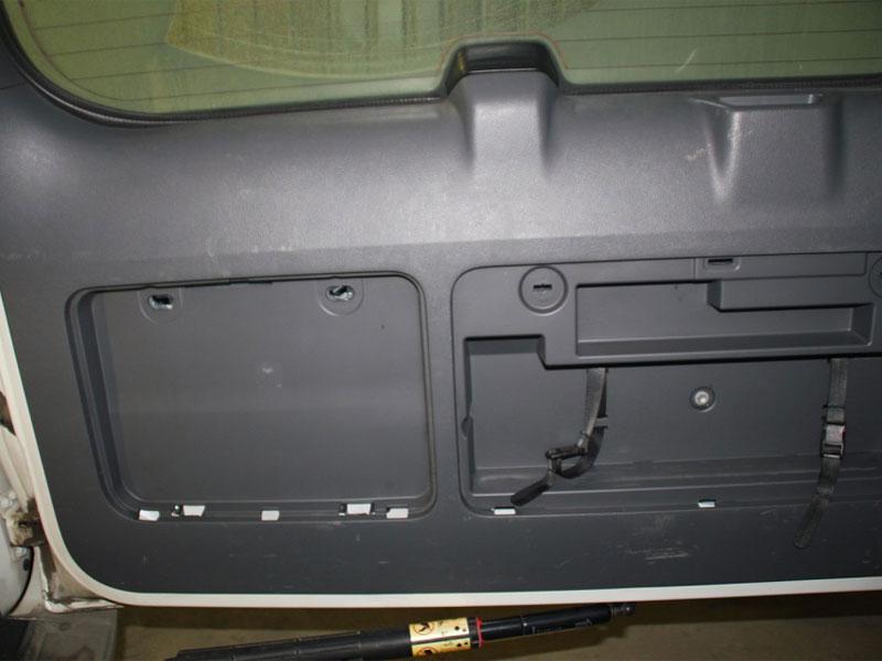 До ремонта дверной накладки