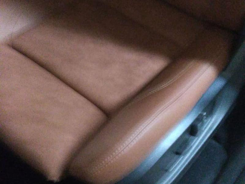 Салон BMW Х6 после перетяжки
